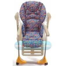 Чехол на стульчик для кормления Chicco polly 2в1 плащевая ткань