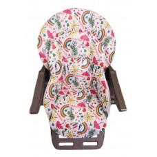Чехол на стульчик для кормления Chicco polly magic двойной плащевая ткань