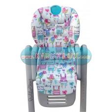 Чехол на стульчик для кормления Chicco polly 2 Start плащевая ткань