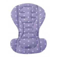 Вкладыш на стульчик для кормления и коляску звезды